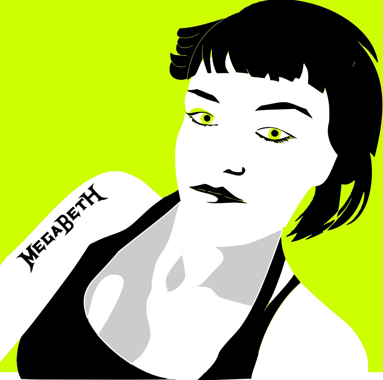 New illustration – self portrait zombie